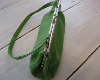 Olive Green Handbag  Made in China