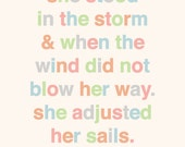 Quote wall art (PDF)