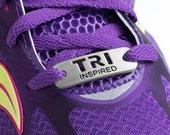 TRI INSPIRED - Triathlon Shoe Tag Charm