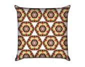 "Kaleidoscope Eyes (2) - Original Pattern Sofa Throw Pillow Envelope Cover for 18"" inserts"