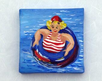 Floating Around by Joan Pilarczyk