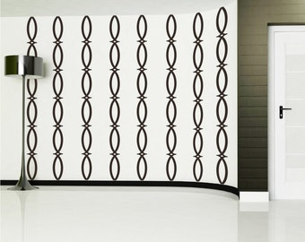 Wall Decals Mural: Ironworks - Pattern Vinyl Stickers Art