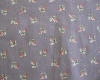 """Laura Ashley English Country Floral Lavender Background Print 54"""" x 16 Yards"""