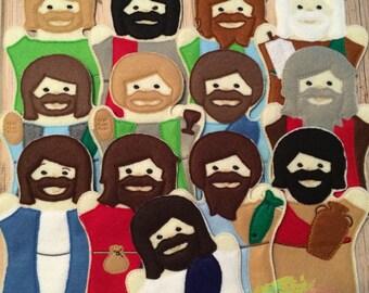 Jesus and His 12 Disciples Set: Item # 1052AP-H