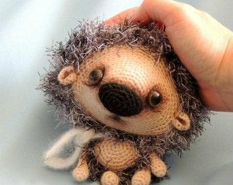 098 Hedgehog Kuka - Amigurumi Crochet Pattern PDF file by Pertseva Etsy
