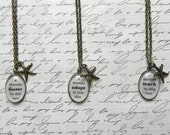 Starfish Thrower ADOPT, FOSTER, or TEACH Necklace