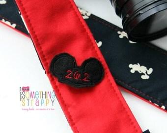 Marathon Mickey Ears - Camera Strap Add On