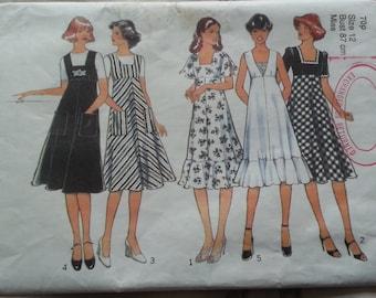 Style Dress pattern 1939, 1970s, Size 12