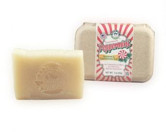 Peppermint Shampoo & Conditioning Bar