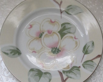 Vintage Fairfield China, Dishes, Dogwood Pattern, Set Of Six