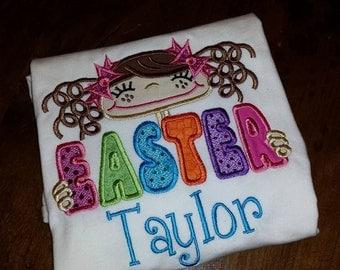 Girls Easter Shirt