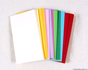 Color Paper Business cards (55) paper CL01 - Blank
