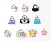 Add a Charm - Id Badge Holders - Cute Name Badge Reel - Unique Retractable Id Badge Clips - Designer Bling Badges - RN Badge - BadgeBlooms