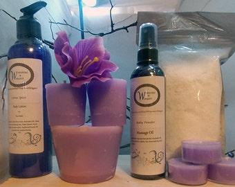 Bath Set - Sensual Massage Set