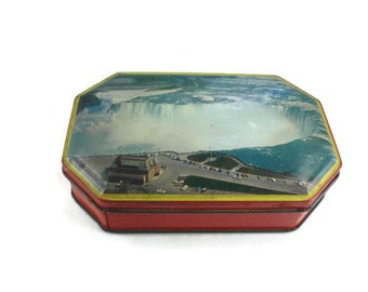 Blue Bird Toffee Tin Harry Vincent Limited Niagara Falls