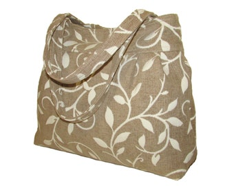 110- bag, purse,color beige, handmade