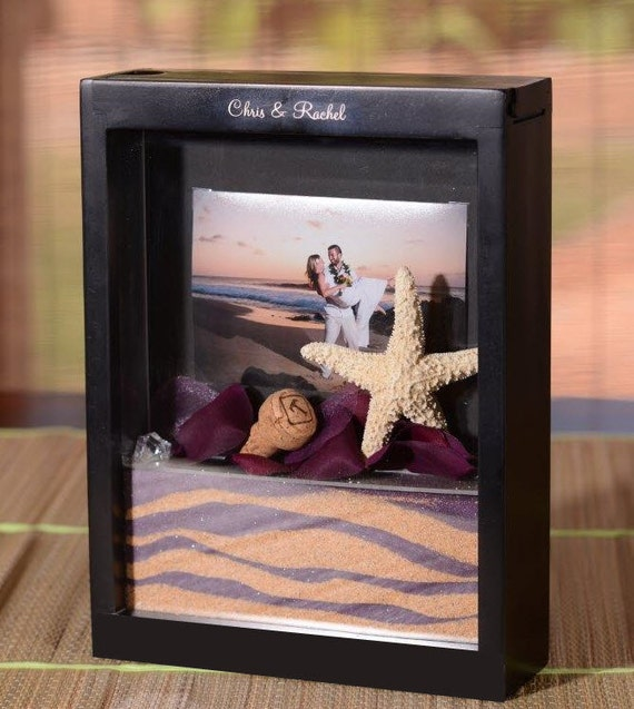 Items Similar To Black Unity Sand Frame Kit With Engraving