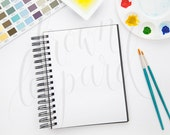 Artwork Mockup for prints (24); styled stock photography; web, blog; watercolor art