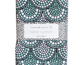 Minty Green Mosaic Table Runner