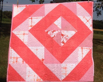 Little Lobster Baby Quilt