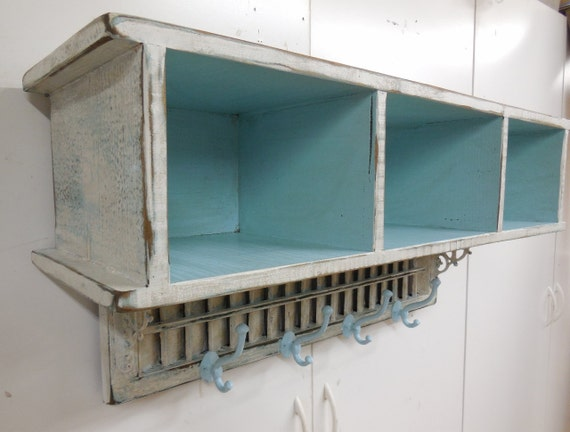 Items similar to french country wall shelf antique window for French country shelves