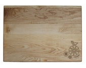 TEACHER GIFT Personalized Cutting Board 10x14 Maple Custom Laser Engraved