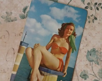 Very Retro Vintage Pin Up Playing Cards
