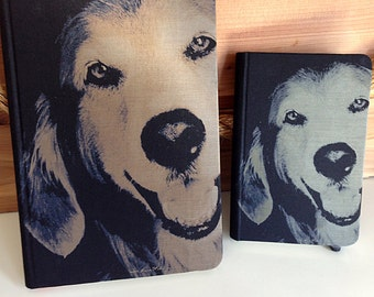 LARGE - Smiling Dog Journal