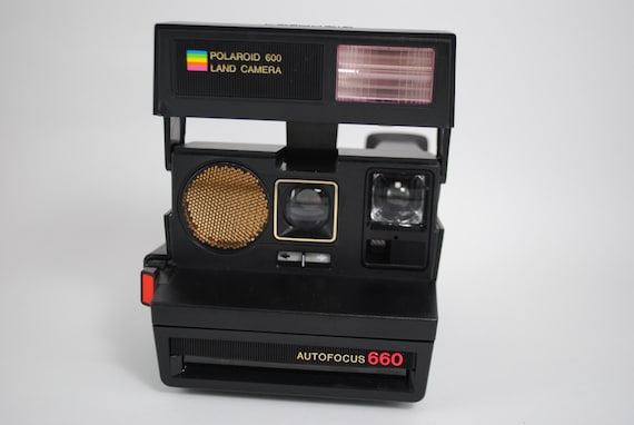 polaroid autofocus 660 land camera. Black Bedroom Furniture Sets. Home Design Ideas