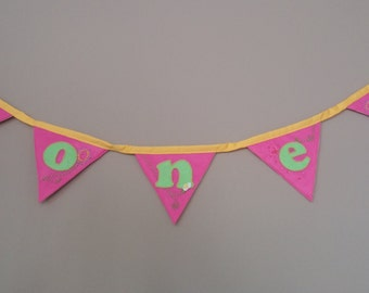 Personalized Felt Birthday Banner