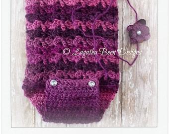 Crochet easy shell romper IV pattern - PDF68 instant download