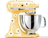 Daisy Mixer Decal Kit - KitchenAid Stand Mixer Decal - Original Daisy Design