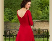 "Dress ""Tiffany"", in red"