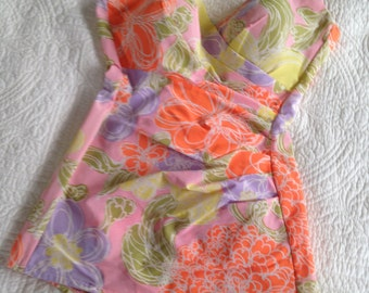 60s Catalina Hard Cup Ruched One Piece Bombshell Swimsuit