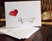 Red Heart Doggie Set
