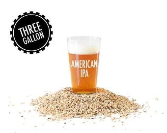 American IPA - 3 Gallon Beer Making Recipe Refill Kit - Brew in a Bag