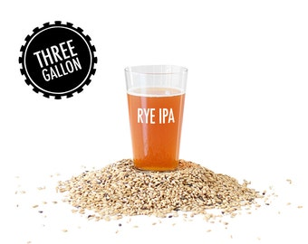 Rye IPA - 3 Gallon Beer Making Recipe Refill Kit - Brew in a Bag