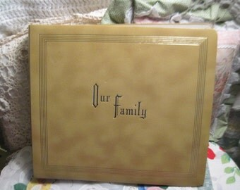 Our Family Photo Album 1960s Crown Albums  :)
