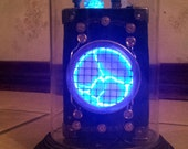 Steampunk Tesla Box in Glass Bell Jar