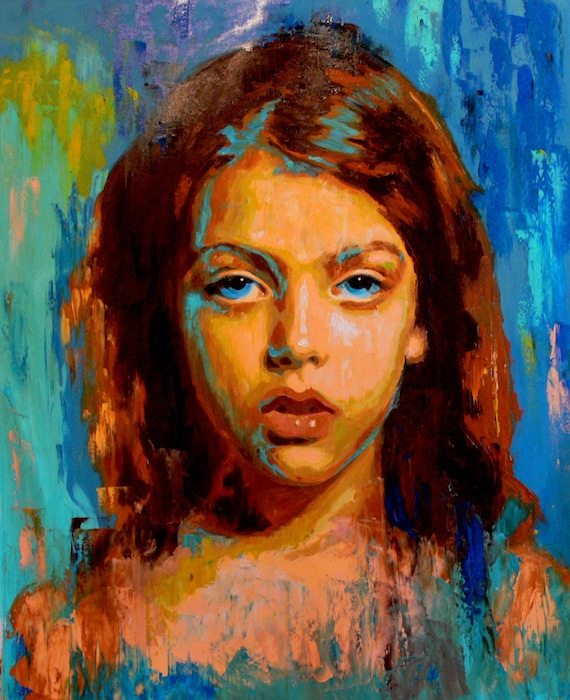 portrait painting oilcustom portrait child by artonlinegallery