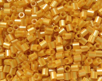 Perler Beads for Sale - Gold Pearl Stripe (147)