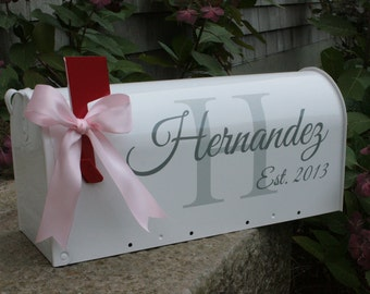 DECALS - Wedding Mailbox Decals - 2 Sets