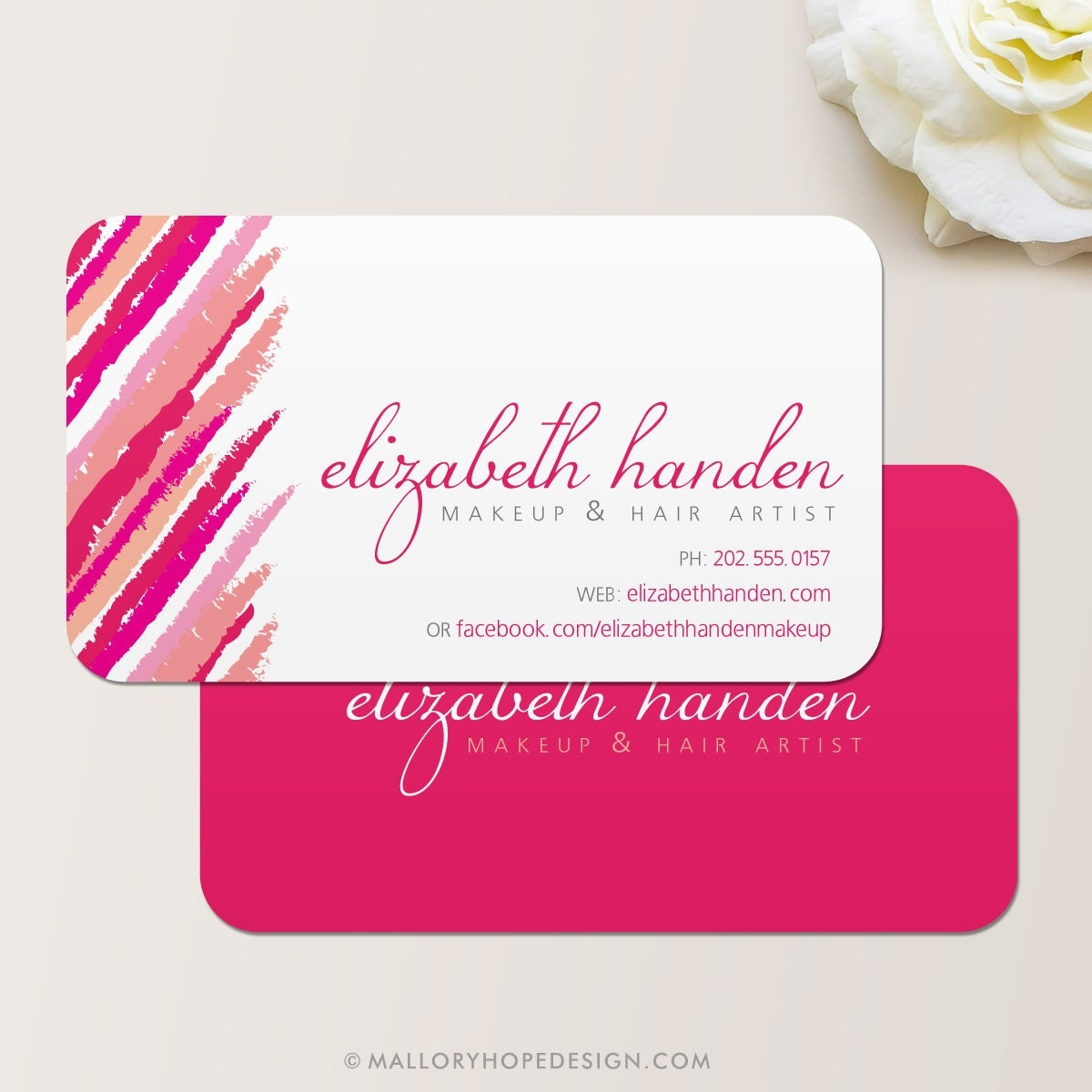 Makeup artist lipstick business card calling card mommy zoom magicingreecefo Images