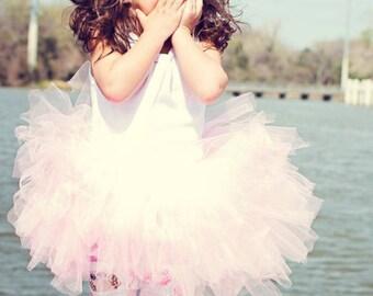 Pink Girly Tutu -Large 5T/8