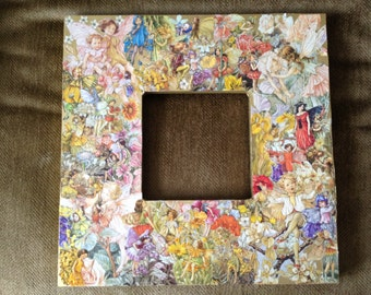 Fantasy Fairy Decoupage Picture Frame and/or Mirror