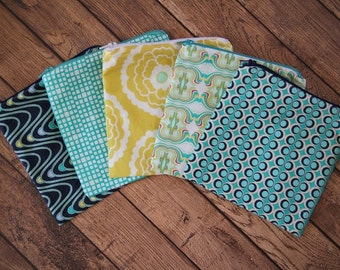 Modern Print Reusable Snack & Sandwich Bags (You Choose the Print, Size, Quantity)