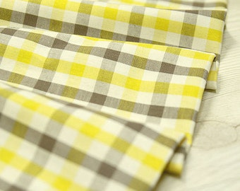 """Yarn Dyed Plaid Cotton Fabric - 44"""" Wide - By the Yard 44494"""