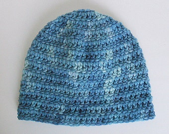 6 Month Baby Boy Blue Hat Infant Girl Cap  Winter Beanie 3 To 9 Months Skullcap Gender Neutral Fall Clothing Ready To Ship