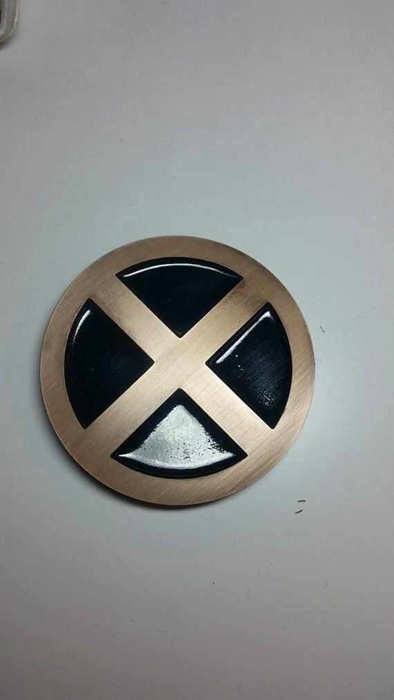 X Men Belt Buckle By Hokuprops On Etsy
