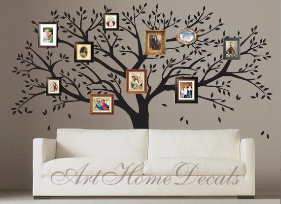 Arbol genealogico pintado en pared - Imagui